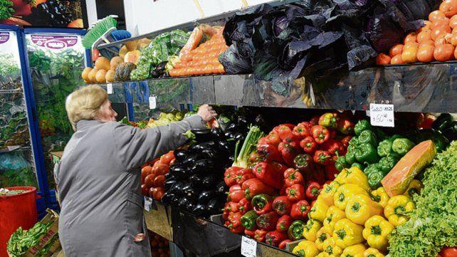 Arriba. Las frutas y verduras subieron un 9 por ciento en octubre.