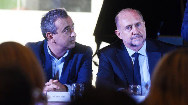 Rosario sufre el pico de  la doble pandemia
