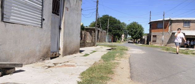 Vereda trágica. José González mató a María Inés Villalba frente a la casa que alguna vez habían compartido.