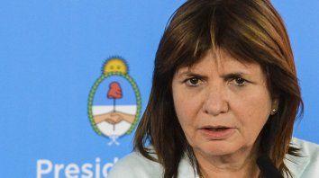 Bullrich le pidió a los jueces que vayan a fondo en Rosario y si no pueden que se corran