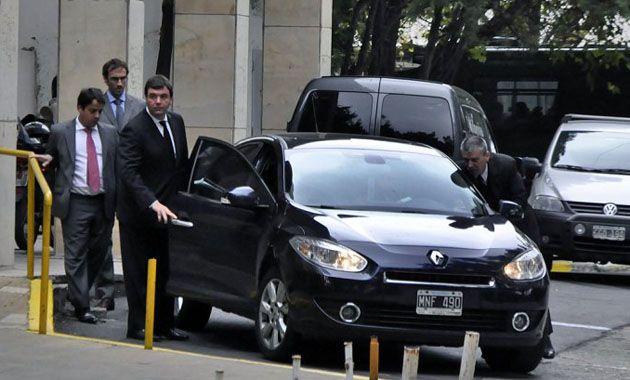 Lijo llegó a las 12 a su despacho del tercer piso de los Tribunales de Comodoro Py.