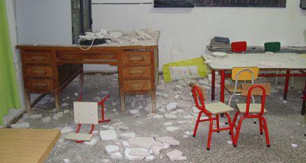 Suspendieron las clases en una escuela primaria por problemas edilicios