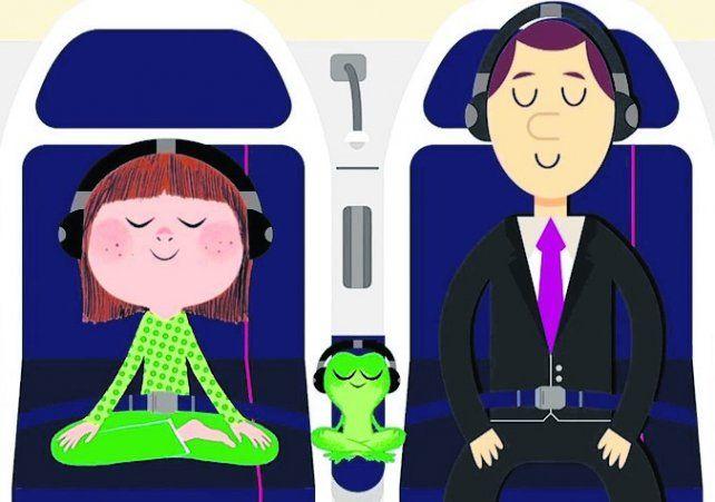 Lanzaron programa de meditación a bordo