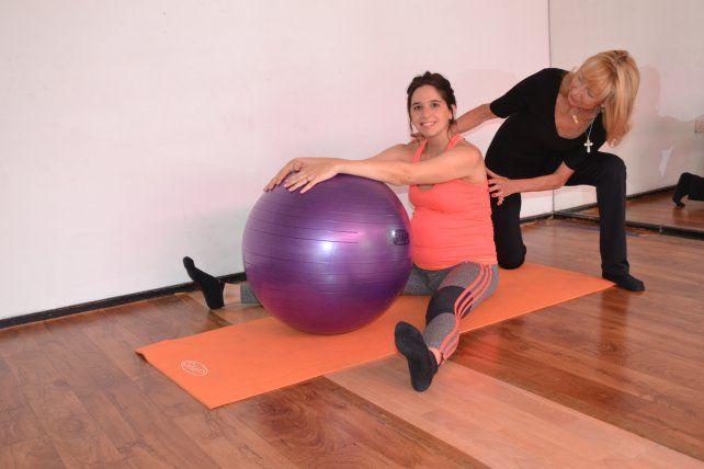 Curso de Asistente físico en pre y post parto en el Instituto Mirta de Fussi