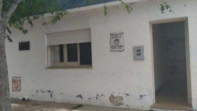 El Juzgado de Pequeñas Causas y el Registro Civil de Chañar Ladeado.