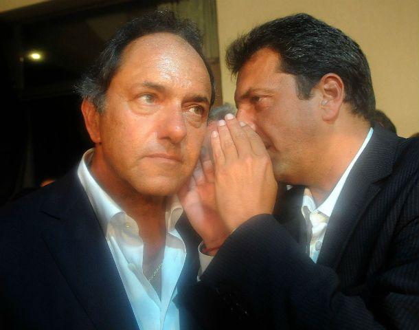 Scioli y Massa se reencontraron en la inauguración de un casino