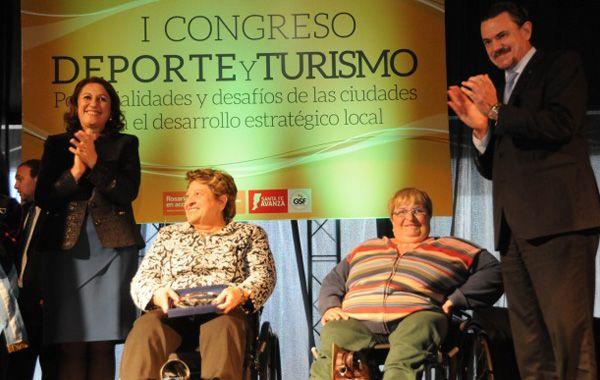La intendenta Fein participó en la apertura oficial del primer Congreso Internacional de Deporte y Turismo. (Foto:www.rosarionoticias.gob.ar)