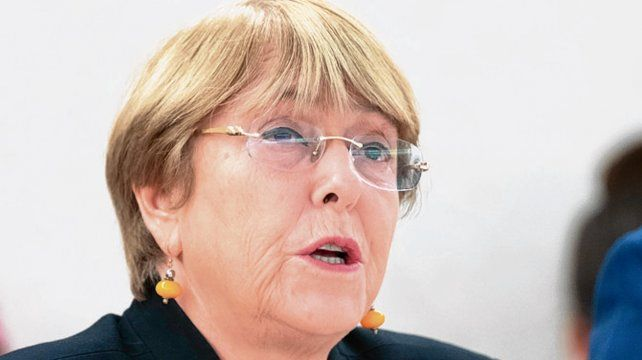 frontal. Bachelet