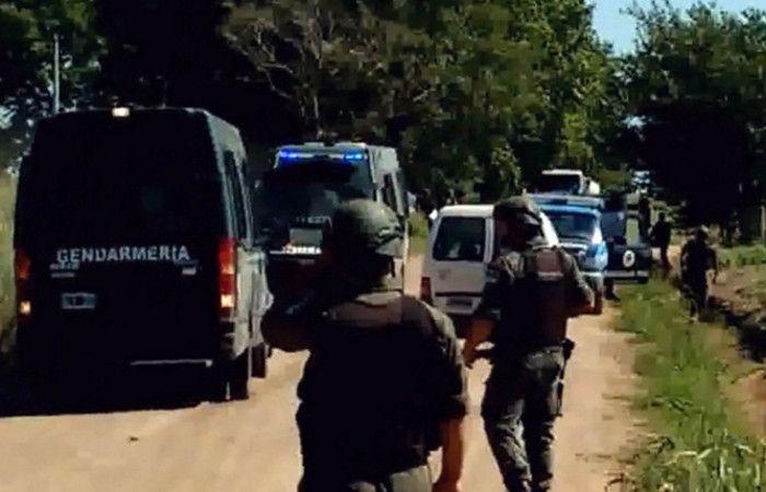 Un tiroteo se produjo en un camino rural entre San Agustín y San Carlos Norte. (imagen de TV)