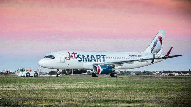 JetSmart comenzó a operar los vuelos Iguazú-Salta