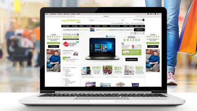 Falabella bajó las persianas pero hará subastas online de productos en oferta