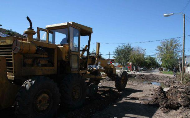 Fase inicial. El plan de mejoras arrancó meses atrás con la apertura de la calle Centeno.