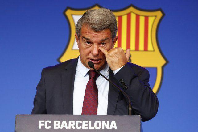 El presidente de Barcelona