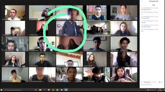 Profe, le están robando: asaltan a una alumna durante el dictado de una clase virtual
