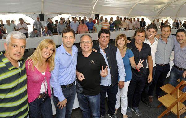 En Santa Teresita. El peronismo provincial criticó políticas de Cambiemos.