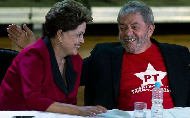 Crucial alianza. Dilma buscará la reelección apoyándose en la figura de su mentor