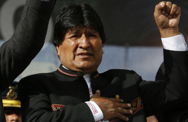 Internación. El sorpresivo viaje de Evo a Cuba generó rumores en Bolivia.