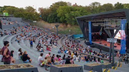 El Anfiteatro en una de sus últimas funciones antes de las actuales restricciones.