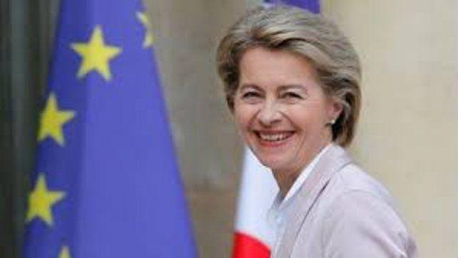 La presidenta de la Comisión Europea