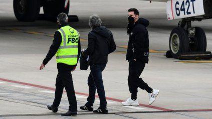 Tras un viaje relámpago a Buenos Aires, Messi suspendió su viaje de vacaciones