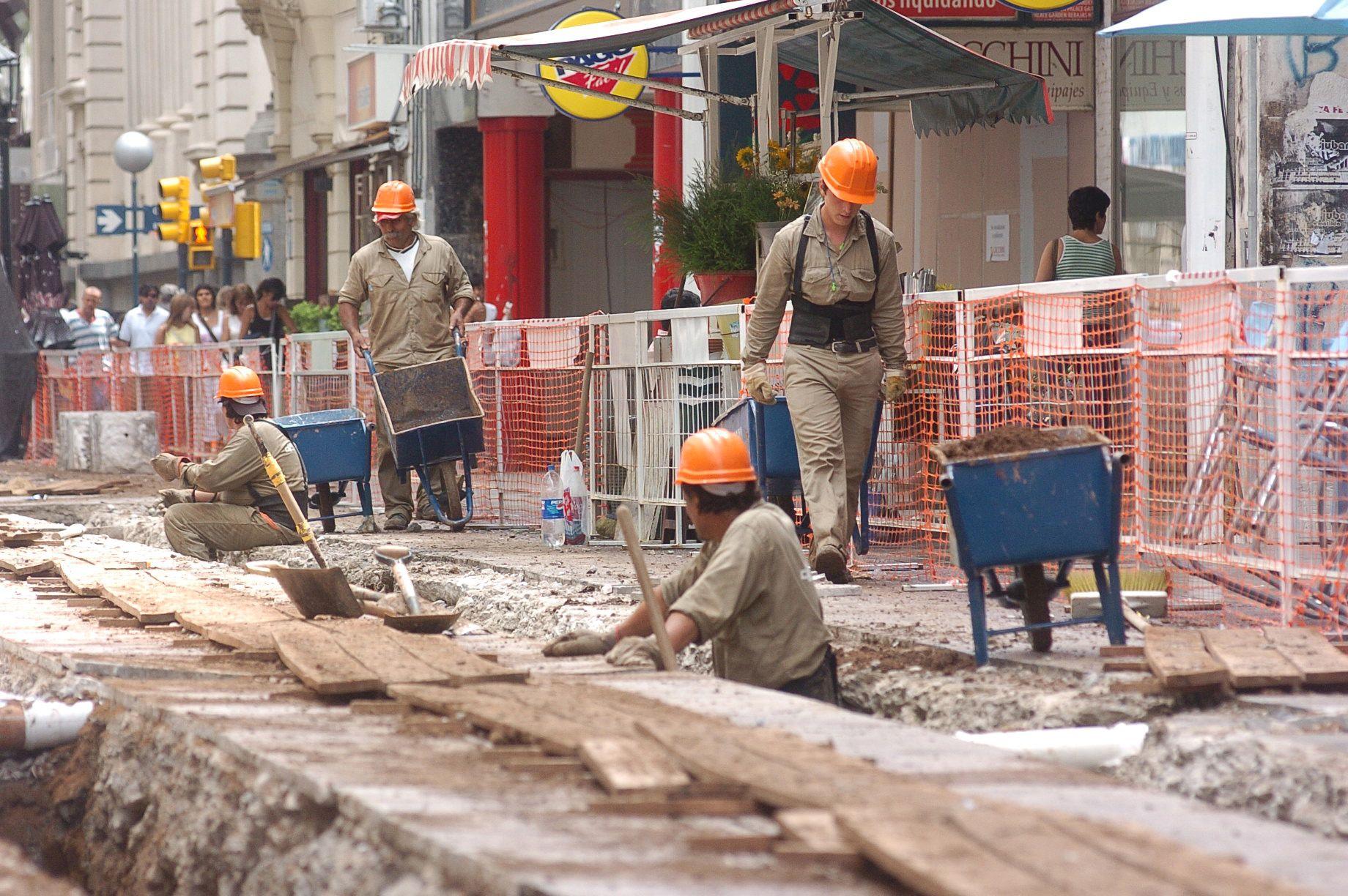 A principios de la semana próxima comenzarán los trabajos de la EPE  en la peatonal Córdoba.