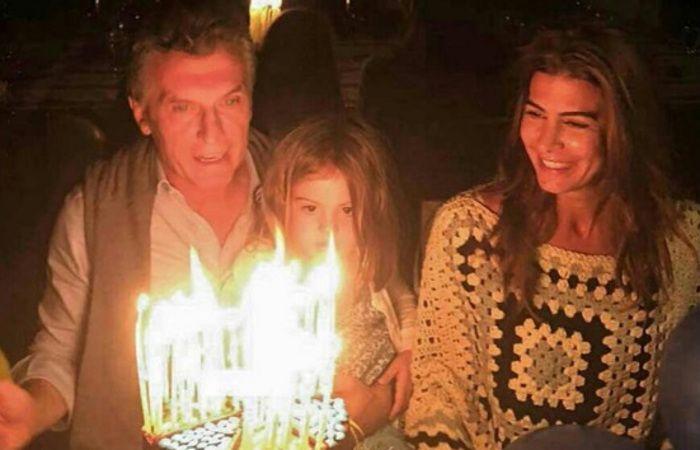 Macri celebró su cumpleaños número 57 y sopló las velitas en las sierras cordobesas