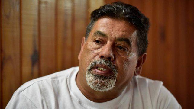 Carlos García en una entrevista con La Capital
