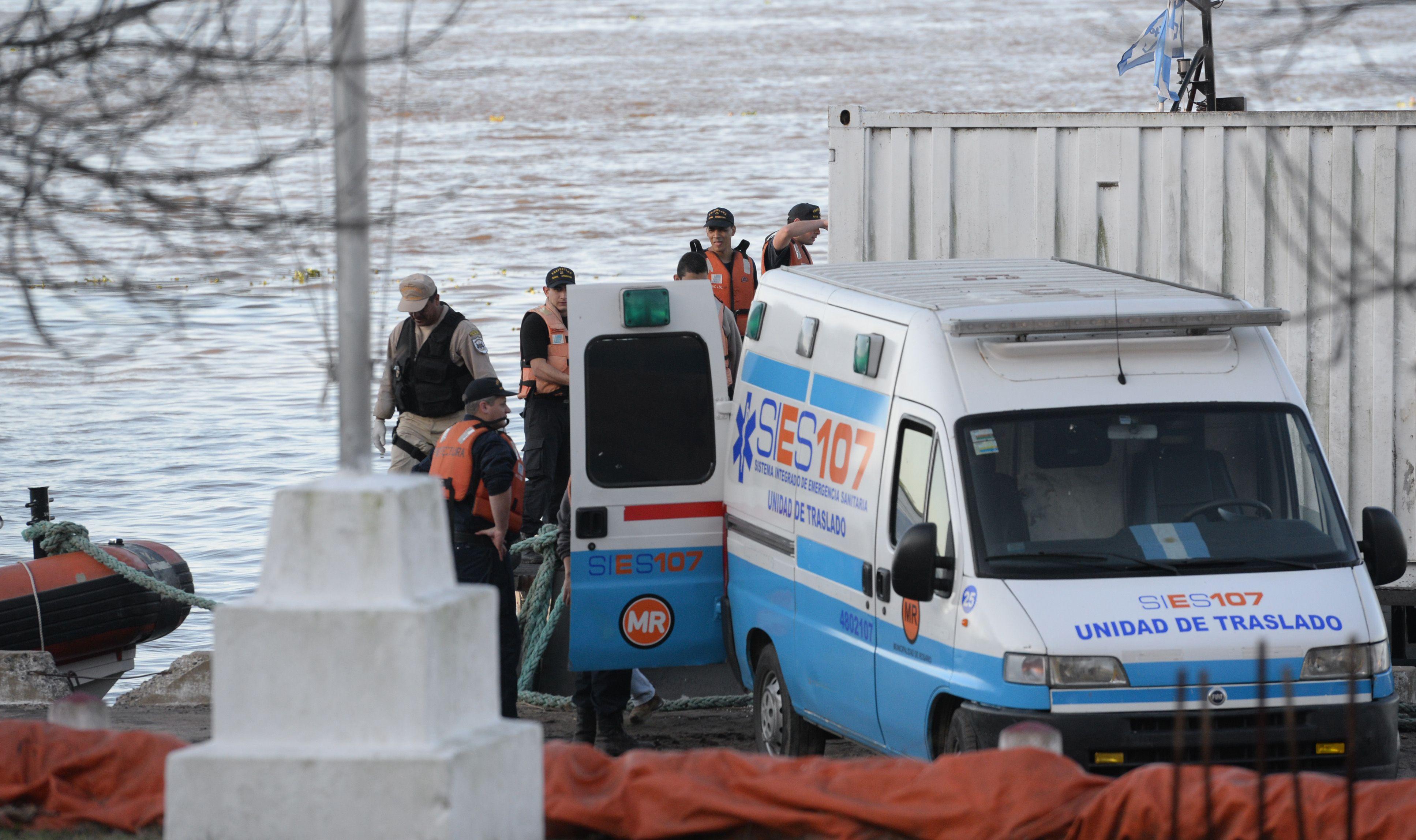 El cuerpo rescatado hoy del río fue identificado como Gerardo Escobar. (Foto: Francisco Guillén)