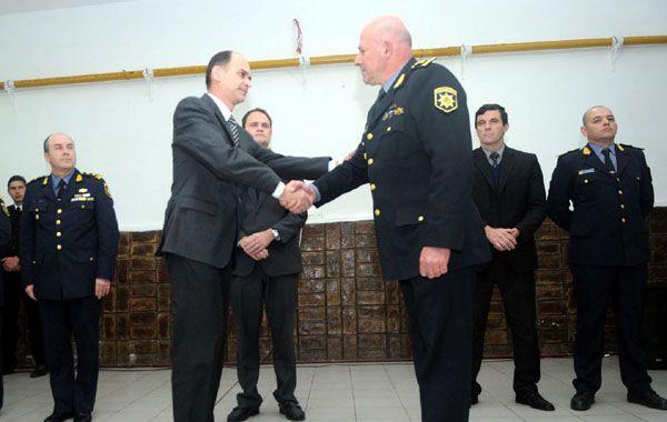 El nuevo jefe de Policía es puesto en funciones. (gentileza: Diario Uno)