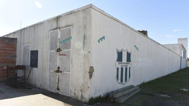 Sin calma. El club Deportivo Amistad