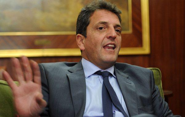 Manos. Massa dijo que no teme que su proyecto de reforma del Código Procesal Penal sea tildado de derecha. (A.Amaya)