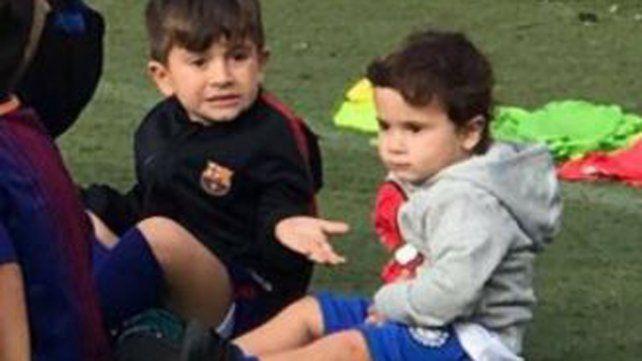 Messi compartió una divertida secuencia que muestra el fastidio de Thiago con su hermano menor