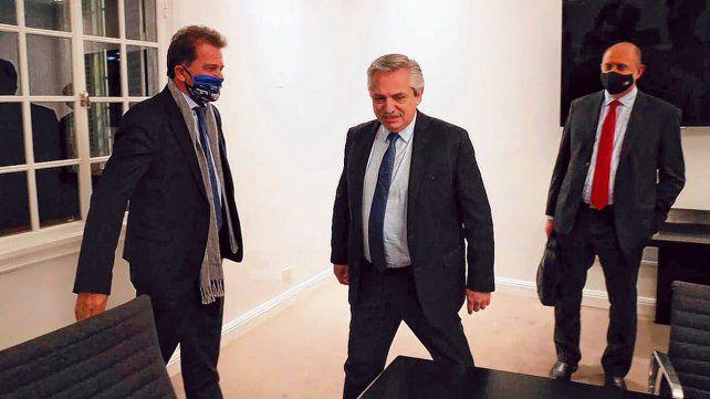Reunión clave en olivos. El presidente Alberto Fernández mantuvo un encuentro con el CEO de Vicentin y el gobernador Perotti.