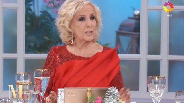 Qué dijo Mirtha Legrand sobre el romance entre Vidal y Sacco