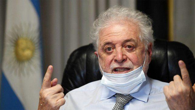 Ginés González García también anticipó que iniciará una denuncia penal contra Patricia Bullrich
