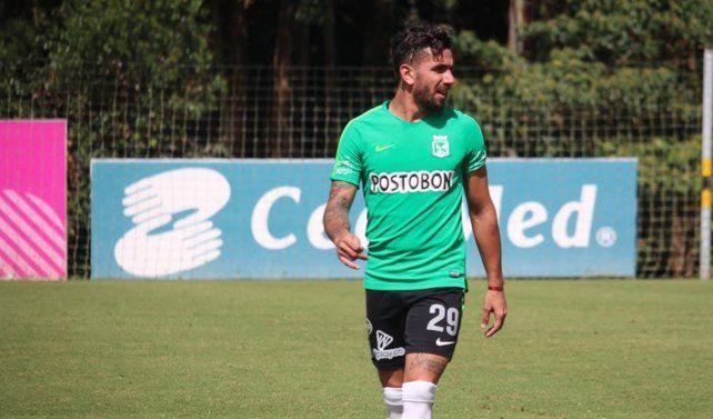Cucchi llegó a préstamo de Atlético Nacional de Medellín.