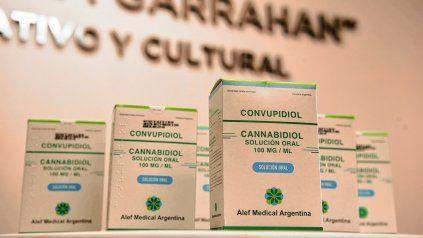 Cannabis medicinal: primera entrega a pacientes del Garrahan