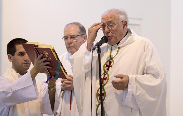 El arzobispo de Santa Fe estará acompañado por el cardenal Mario Poli.