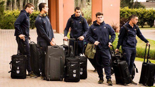 Tiempo de detalles. Los jugadores albicelestes se hospedan en un hotel de renombre en Funes. El martes debutarán ante Gales en la cancha sintética del hipódromo.