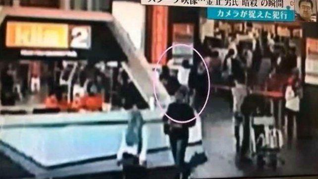 Un video muestra cómo asesinaron en un aeropuerto al hermano del líder norcoreano