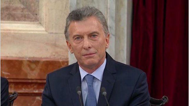 El presidente habló por Cadena Nacional y trazó un balance de su gestión.