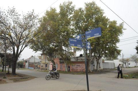 Andrés Matías Monzón cayó mortalmente herido en Larralde y Uriarte. (Foto: F.Guillén)