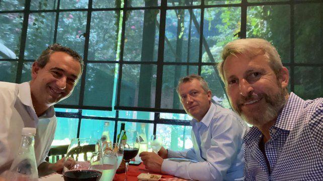 Javkin almorzó con Frigerio y Monzó en una sorprendente señal política