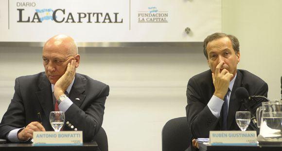 Bonfatti dijo que las heridas con Rubén Giustiniani se irán lavando con el tiempo
