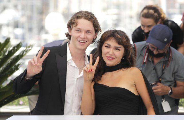 Los hijos de Kilmer en el último Festival de Cannes.