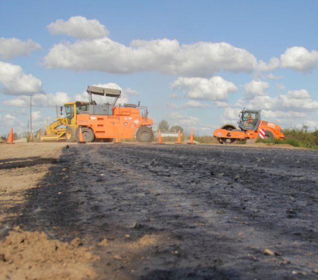 Ruta 33. Los trabajos de reparación de la cinta asfáltica fueron anunciados por el gobernador Omar Perotti