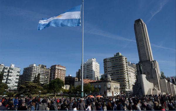 La presidenta anunció el sábado el otorgamiento de los fondos para arreglar el Monumento.