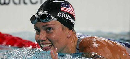 Natación: Natalie Coughlin marcó nuevo récord mundial en 100 metros espalda