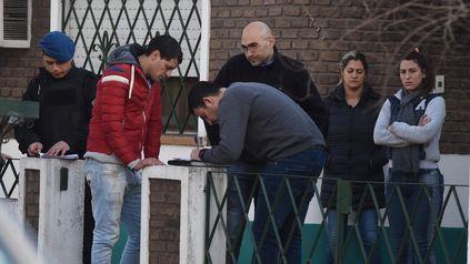 Damián Moreno denunció haber encontrado muerta a su madre en Iriondo al 2700 y luego fue acusado por el crimen.