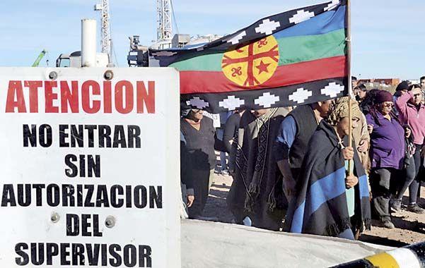 No pasarán. Los mapuches exigen estudios ambientales serios.